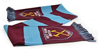 West Ham FC Official Soccer Jacquard Bar Scarf
