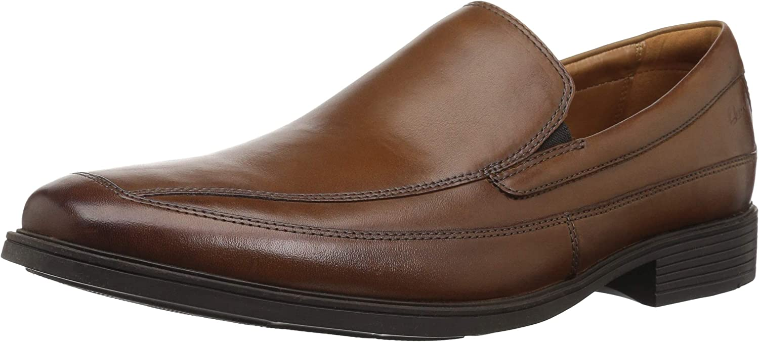 CLARKS Men's Tilden Free, Dark Tan, 11.5 W
