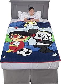 "Franco Kids Bedding Super Soft Plush Throw, 46"" x 60"", Ryan's World"