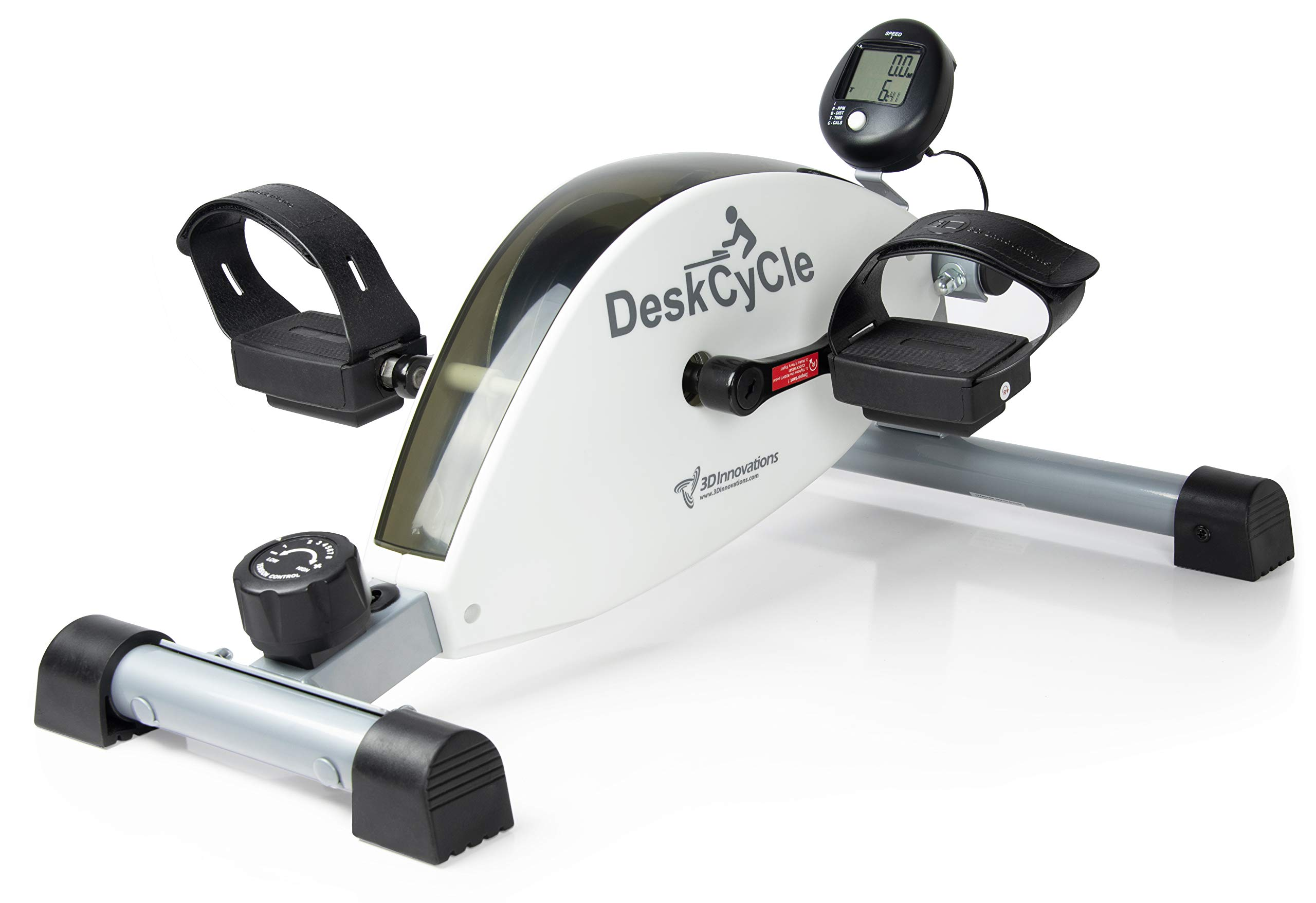 DeskCycle Exercise Pedal Exerciser White