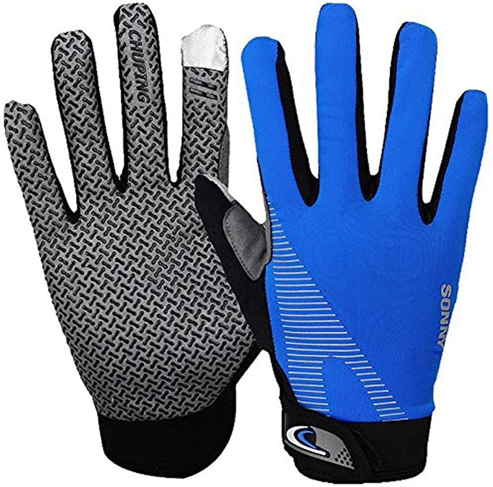 Full Finger UV Protection Lightweight Sun Gloves Touch Screen Cooling Running Workout Gym Gloves for Cycling,Fishing,Driving,Kayaking,Typing Men Women Fitness Gloves Driving Fishing Gloves
