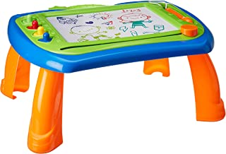 WolVol Kids Magna Doodle Drawing Table - Magnetic Sketch Board with Stand - Creativity Development for Kids & Toddlers