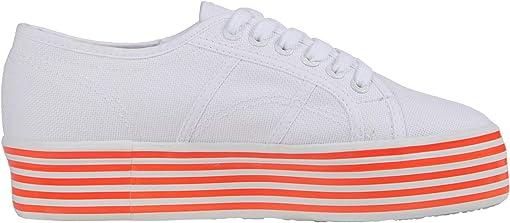 White/Coral