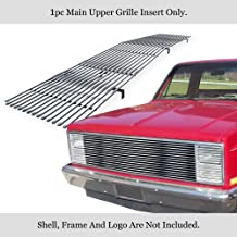 APS Compatible with 1981-1987 Chevy GMC Pickup Suburban Blazer Jimmy Phantom Stainless Billet Grille N19-S20258C
