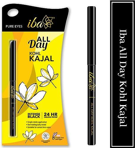 Iba Halal Care All Day Kohl Kajal, Jet Black, 0.35g product image
