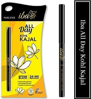 Iba Halal Care All Day Kohl Kajal, Jet Black, 0.35g