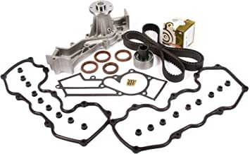 Evergreen TBK249VCT3 Fits 96-04 Nissan Infiniti SOHC VG33E Supercharged Timing Belt Kit Valve Cover Gasket Water Pump
