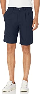Haggar Men's Cool 18 Pro Pleat Front 4-Way Stretch Expandable Waist Short- Regular and Big & Tall Sizes