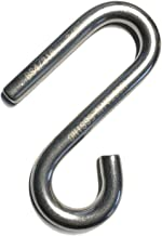 Stainless Steel 316 S Hook Open End and Narrow End 3/8