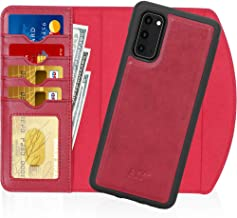 """FYY Case for Galaxy S20 6.2"""", 2-in-1 Magnetic Detachable Wallet Case [Wireless Charging Support] with Card Slots Folio Cas..."""