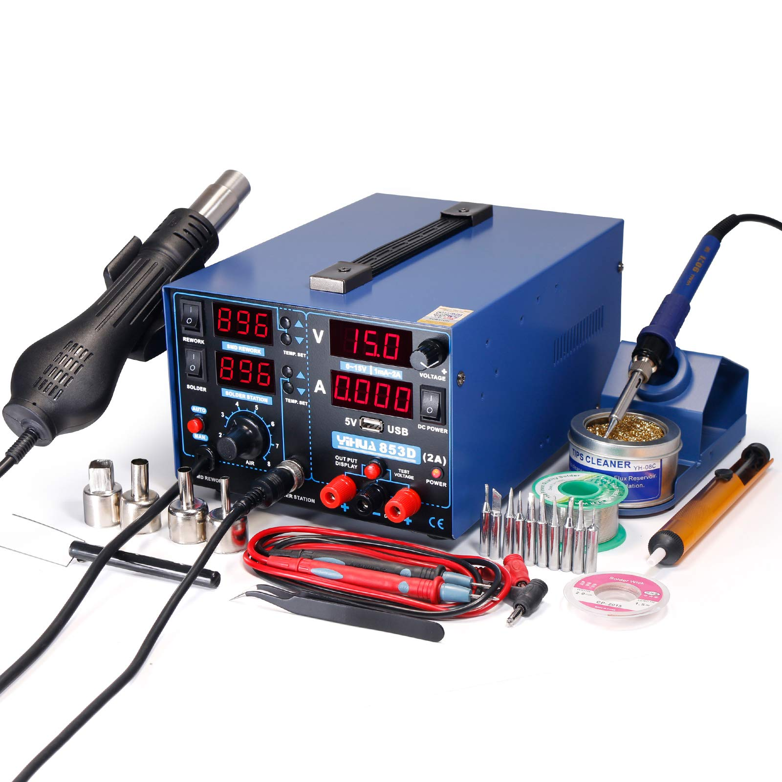 YIHUA Soldering Station Charging Voltage