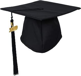 GraduationForYou Unisex Matte Adult Graduation Cap with Tassel 2019