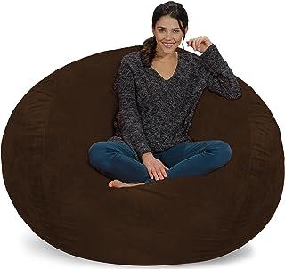 Chill Sack Bean Bag Chair: Giant 5' Memory Foam Furniture...