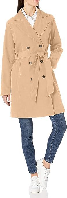 Amazon Essentials Water-Resistant Trench Coat Trenchcoats Donna