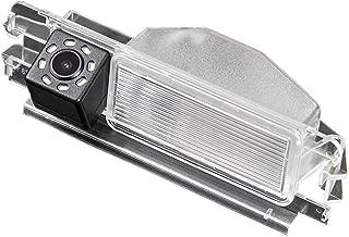 HD 720p Rear View Back Up Reverse Parking Camera in License Plate Waterproof Night Version (NTSC) for Nissan March Micra K12 K13 Renault Logan & Renault Sandero
