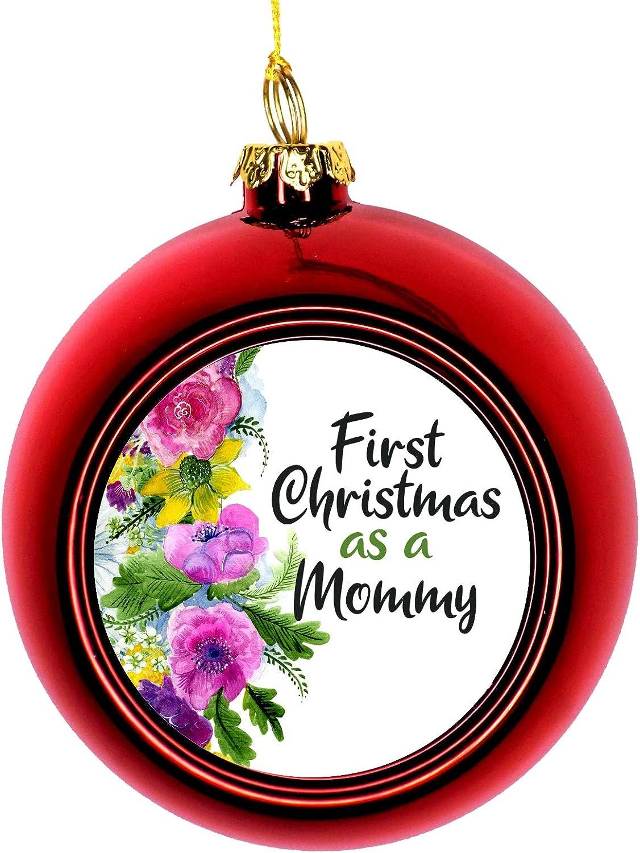 Long Beach Mall Lea Elliot Inc. Mommy Christmas Mother 1st Ornament C Max 90% OFF -