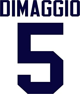dimaggio jersey number