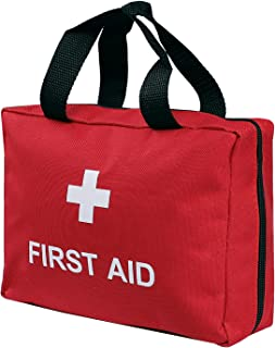 Portable Empty First Aid Kit Bag Waterproof Durable Oxford Small Red Cross Kit Pouch Emergency Survival Bag Medicine Stora...