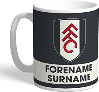 Fulham Official Personalized FC Eat Sleep Drink Mug - Free Personalisation