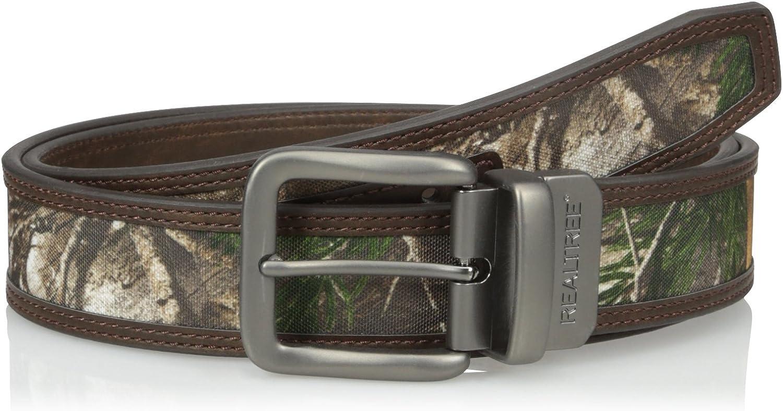 Realtree Men's Camouflage Reversible Belt