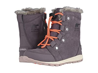 SOREL Kids Whitneytm Suede (Little Kid/Big Kid) (Purple Sage) Girls Shoes