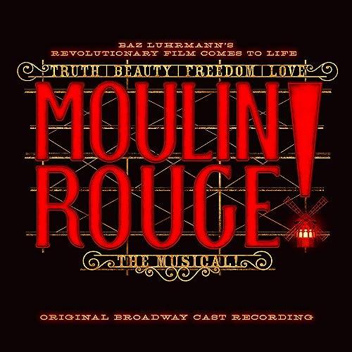 Image result for moulin rouge soundtrack broadway