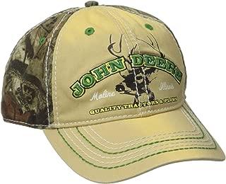 John Deere Men's Mossy Oak Back Cap