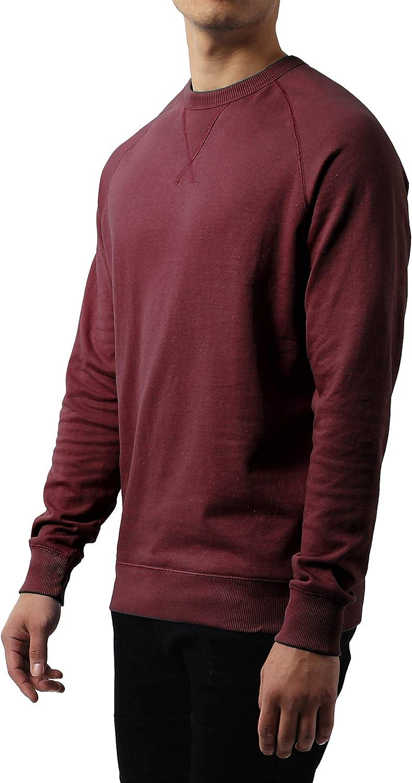 Ma Croix Mens Premium Fleece Sweatshirt Solid & French Terry Size S-3XL