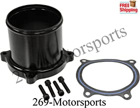 Throttle Valve Delete Kit For 07-16 Dodge Ram 6.7L Cummins Turbo Diesel - Black