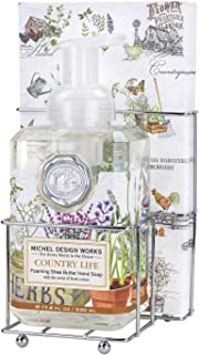 Michel Design Works Foaming Soap Napkin Set, Country Life