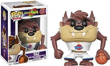 Taz: Space Jam x Funko POP! Movies Vinyl Figure & 1 PET Plastic Graphical Protector Bundle [#414 / 12429 - B]