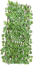 Kunstmatige Rattan Garden Plant Hek Groen Rattan Privacy Screen Buiten Binnen Backyard Decor van het Huis Greenery Walls O...