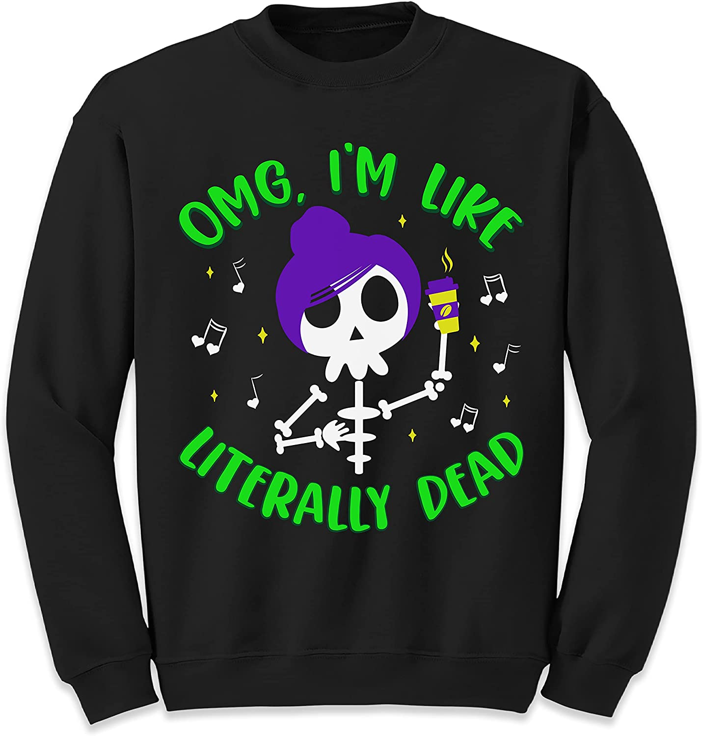 NACRE APPAREL San Francisco Mall OMG I'm Like Skelet Dead Tampa Mall Halloween Literally Funny