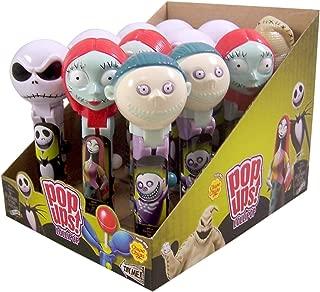 Tim Burton's The Nightmare Before Christmas Pop Ups Lollipops, Set of 12