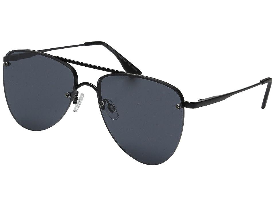Le Specs The Prince (Matte Black 1) Fashion Sunglasses