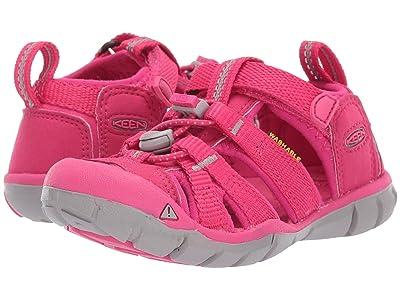 Keen Kids Seacamp II CNX (Toddler/Little Kid) (Hot Pink) Girls Shoes