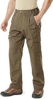 CQR Men's Tactical Pants Lightweight EDC Assault Cargo/Work Rip-Stop Tactical Utility/Cargo Classic Uniform Shorts