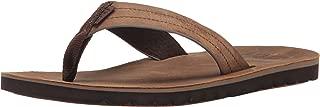 Reef Mens Sandal Voyage Le  | Premium Real Leather Flip...