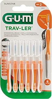 Gum Trav-ler Rager 0.9mm, Oranje, 6 Stuk