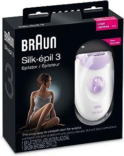 Braun Silk epil 3 3170 Legs Epilator with Massage Cap - Metal Box