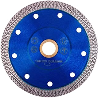 GoYonder 4.5 Inch Super Thin Diamond Saw Blade for Cutting Porcelain Tiles,Granite Marble..