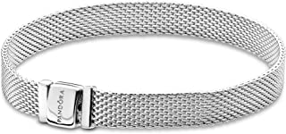 Pandora Womens Metal Fashion Bracelet - 597712-20, Color Silver, Size 8.3 inches