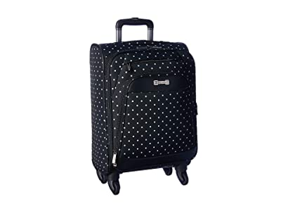 Kenneth Cole Reaction Dot Matrix Collection Two-Piece Set (Carry-On Tote) (Black/White Polka Dot) Luggage