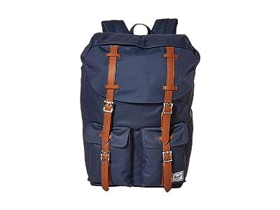 Herschel Supply Co. Buckingham (Navy/Tan) Backpack Bags