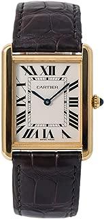 Cartier Tank Solo Quartz Male Watch W5200004 (Certified Pre-Owned)