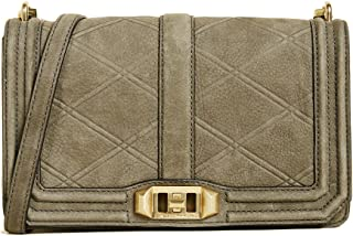 Rebecca Minkoff Love Crossbody Oil Slick Hardware Shoulder Bag
