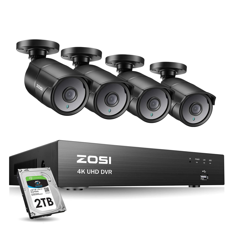 ZOSI Outdoor Security Channel Weatherproof