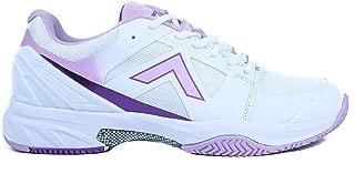 Tyrol Women's Striker Pro Series Pickleball Shoe (7.5, White/Purple)