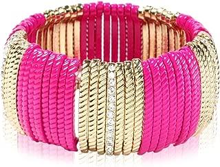 Amrita Singh Prince Street Bracelet Fuschia