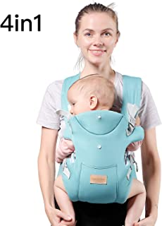TIANCAIYIDING Ergonomic Baby Carrier,Soft & Breathable Baby Carriers Backpack Front and Back for Infants to Toddlers Up to 44 lbs